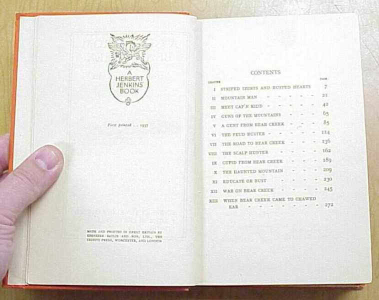 Copyright/Table of Contents
