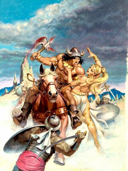 The Savage Sword of Conan #194