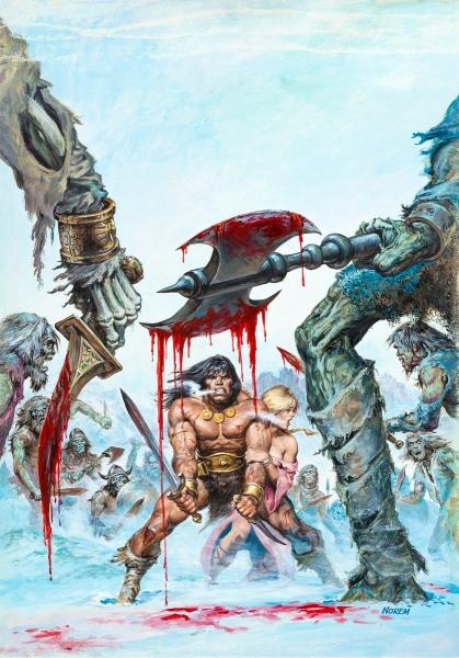 Earl Norem Savage Sword of Conan #39 Cover