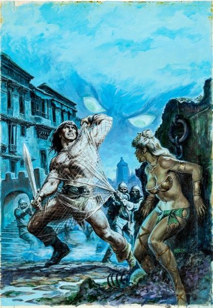 Earl Norem Savage Sword of Conan #58 Cover