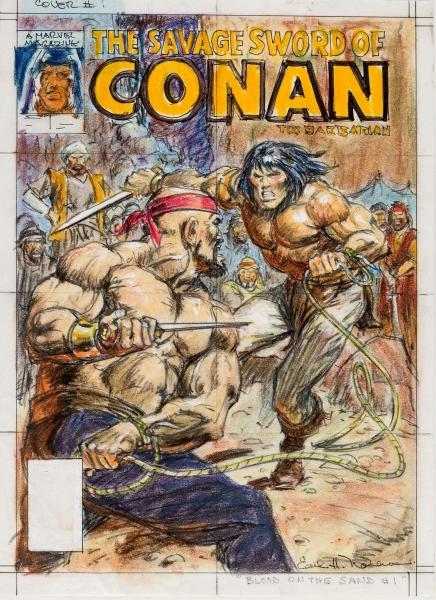 Earl Norem Savage Sword of Conan #153