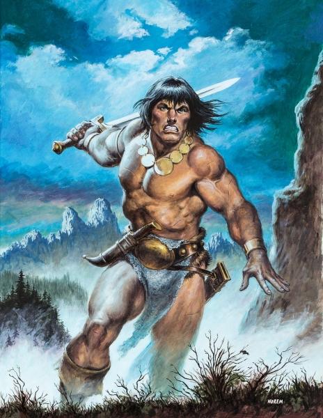 Savage Sword of Conan #171 Cover
