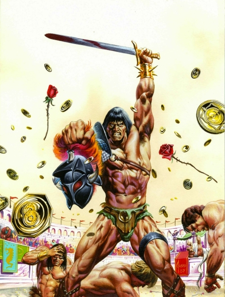 Cover for Savage-Sword of Conan #147