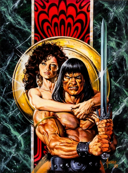 Cover for Savage-Sword of Conan #170