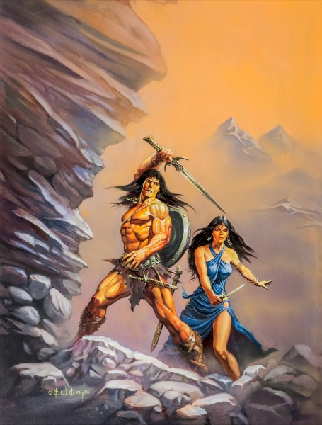 Conan and the Queen of the Black Coast