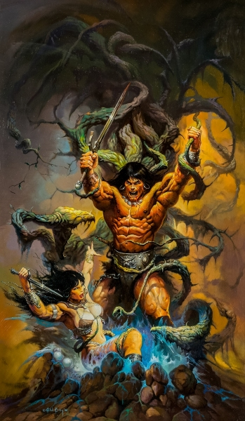 Conan and the Emerald Lotus