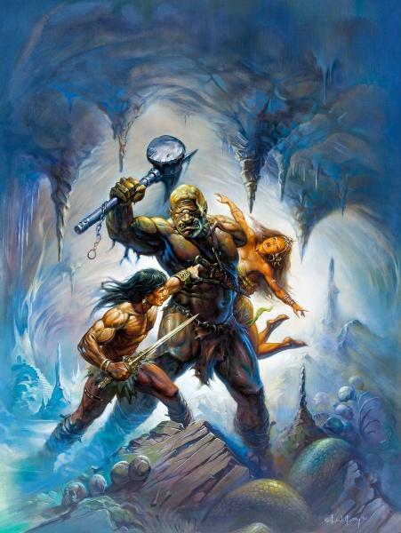Conan vs Cyclops