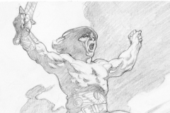 Mark-Schultz-Conan-Illustration-Original-Art-undated