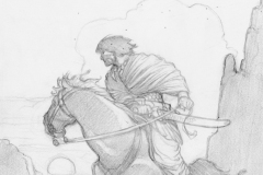 Mark-Schultz-Robert-E.-Howards-Complete-Conan-of-Cimmeria-Preliminary-Slipcase-Illustration